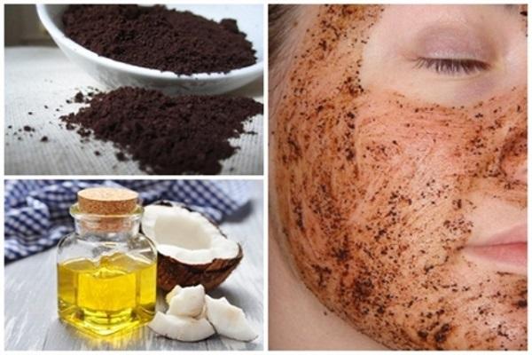 Cách tẩy tế bào chết tại nhà đơn giản bằng bã cà phê và dầu dừa