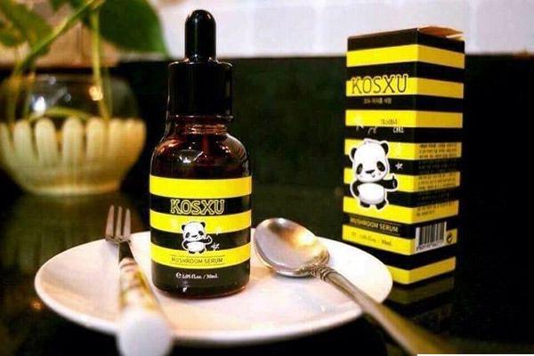 Xóa mụn và chống lão hóa da với Serum Kosxu