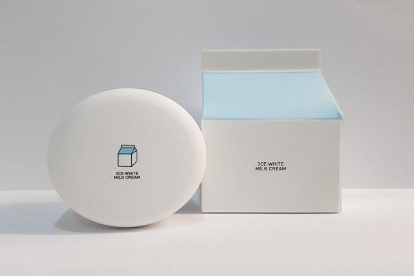 Kem dưỡng trắng da 3CE White Milk Cream