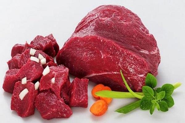 Thịt màu đỏ giúp mặt đầy đặn hơn
