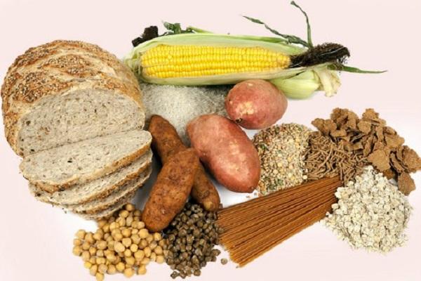 Thực phẩm chứa nhiều tinh bột giúp béo mặt không béo người