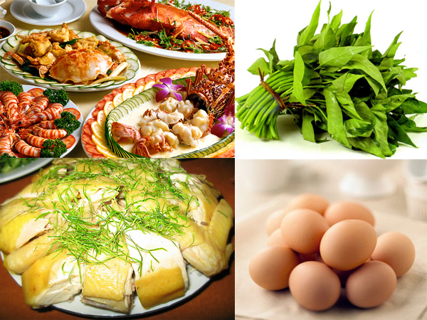 Các loại thực phẩm dù rất ngon nhưng nên tránh sau khi xăm