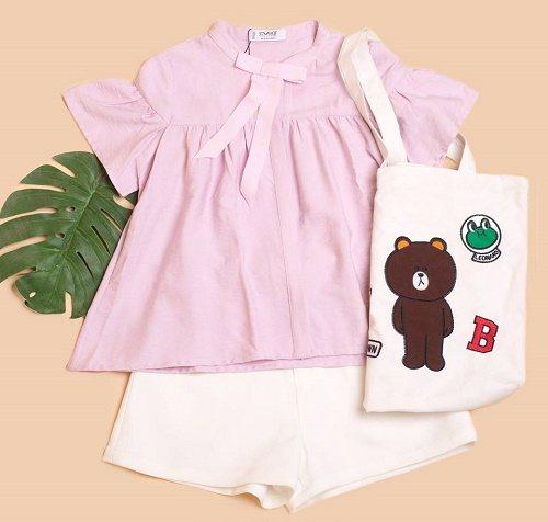 Mix quần Short cùng áo Babydoll là gợi ý hoàn hảo