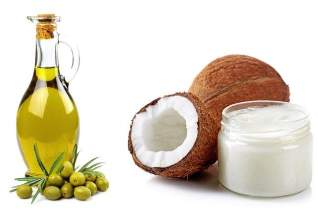 Dầu oliu và dầu dừa là bộ đôi hoàn hảo