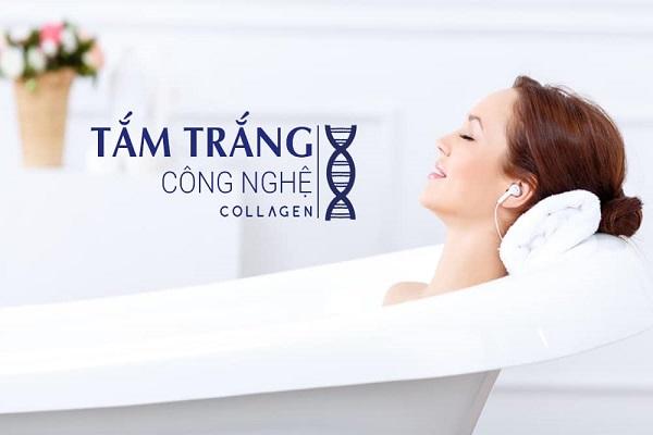 Công nghệ tắm trắng bằng Collagen