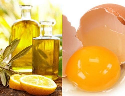 Chữa tóc xoăn bẩm sinh bằng dầu olive và trứng
