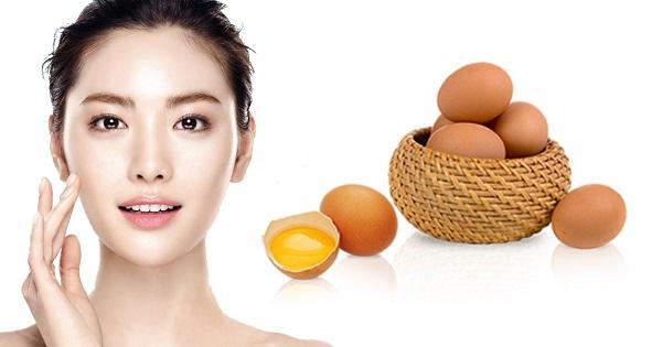 Mặt nạ chống lão da với trứng gà và đào