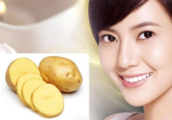 Mặt nạ chống lão hóa từ khoai tây