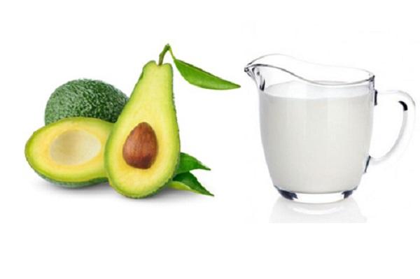 Tắm trắng bằng sữa tươi không đường và bơ