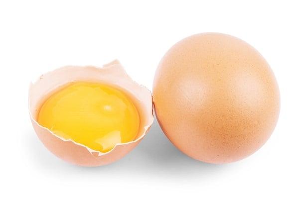 Lòng đỏ trứng gà giúp chống lão hóa làn da