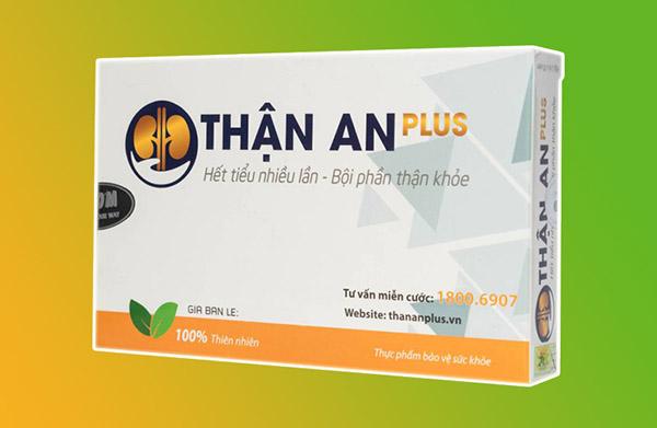 Thận An Plus là sản phẩm giúp hỗ trợ điều trị tiểu buốt