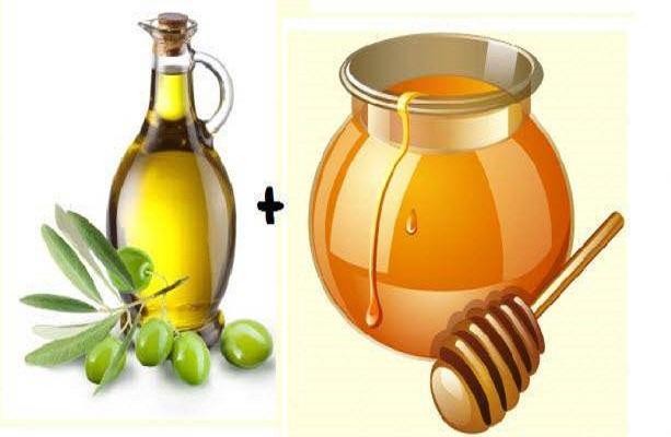 Chăm sóc da với mật ong và dầu oliu