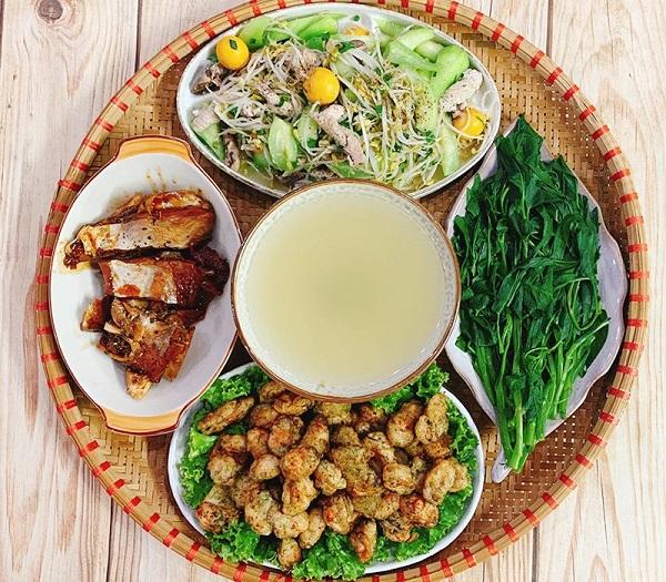 Thực đơn cơm trưa gia đình 24