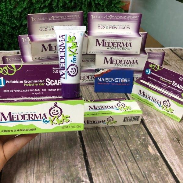 Kem trị sẹo Mederma for Kids