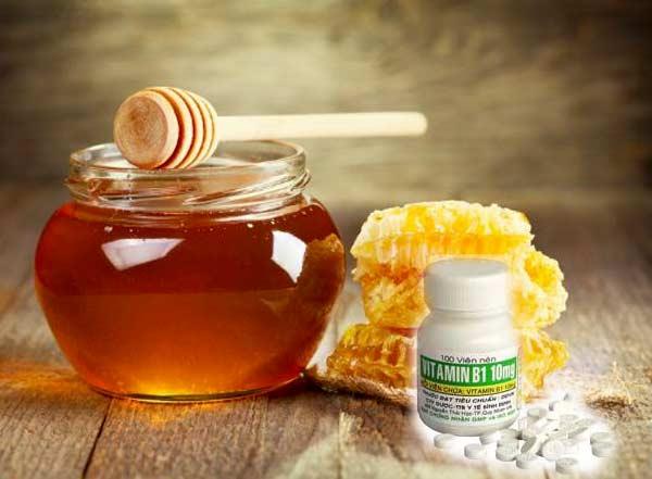 Mặt nạ Vitamin B1 và mật ong