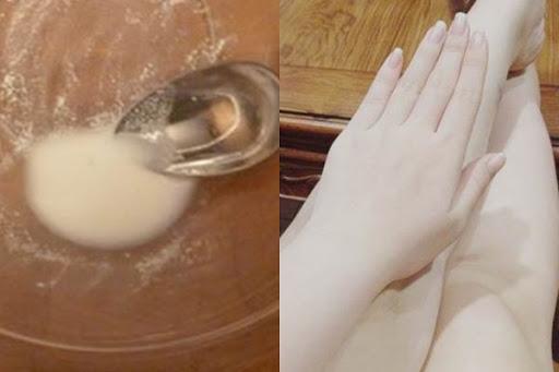 Dưỡng trắng da toàn thân từ Vitamin B1 và đường
