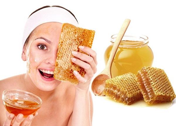 Mặt nạ dưỡng trắng bằng mật ong, chanh
