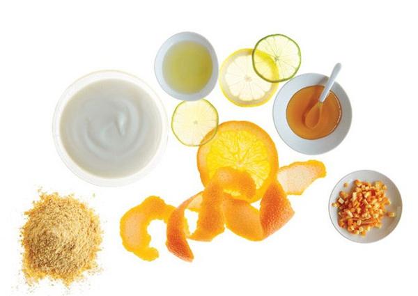Mặt nạ dưỡng ẩm mật ong, chanh kết hợp sữa tươi