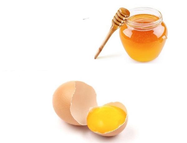 Ngừa sẹo thâm bằng mật ong và trứng gà