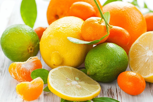 Trái cây giàu Vitamin C