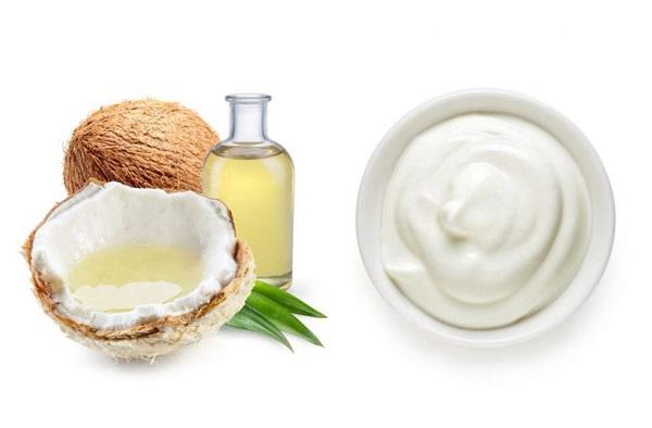 Dưỡng môi dầu dừa kết hợp sữa chua không đường