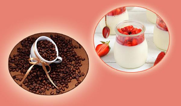 Tẩy tế bào chết bằng bã Cafe và sữa chua