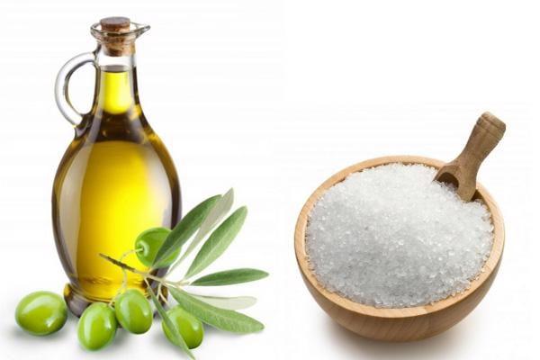 Tẩy tế bào chết bằng dầu Oliu và đường