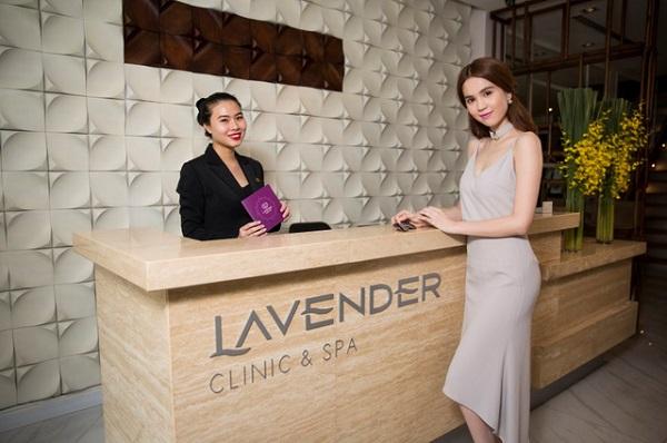Tắm trắng tại Viện thẩm mỹ Lavender