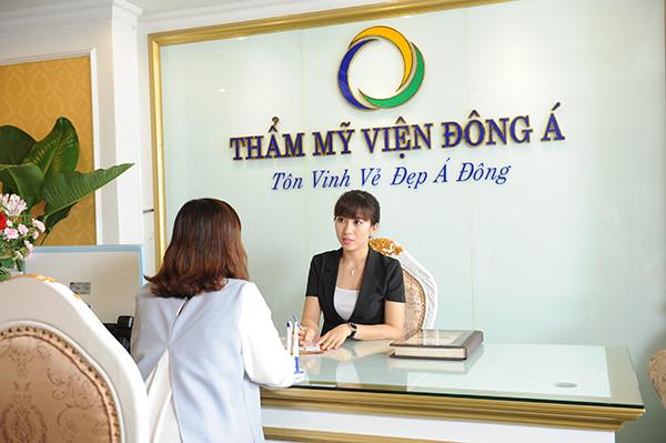 Tắm trắng uy tín tại thẩm mỹ viện Đông Á