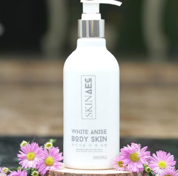 Thành phần sữa tắm trắng da Skin AEC