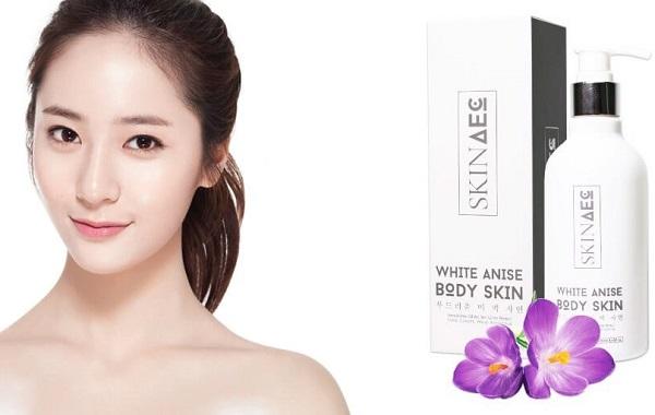 Review công dụng của sữa tắm trắng Skin AEC