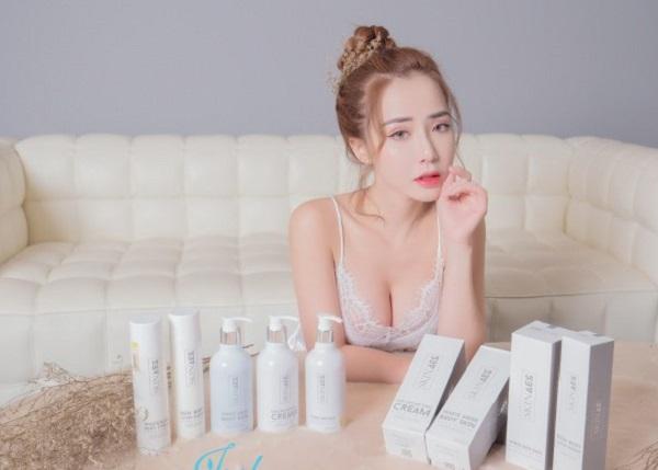 Cách sử dụng sữa tắm trắng Skin AEC