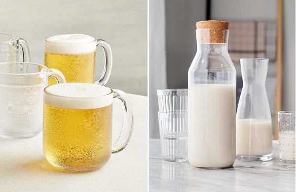 Tắm trắng bằng bia và sữa tươi