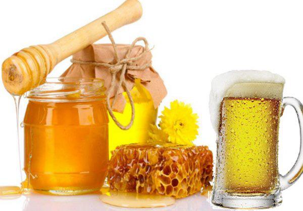 Tắm trắng toàn thân bằng bia, mật ong và nghệ