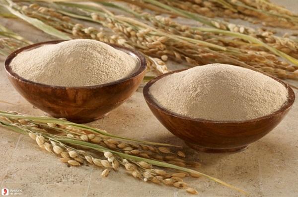 Tắm trắng bằng bia và bột cám gạo