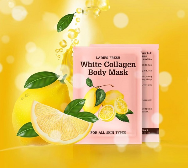 Tắm trắng White Collagen Body Mask Thái Lan