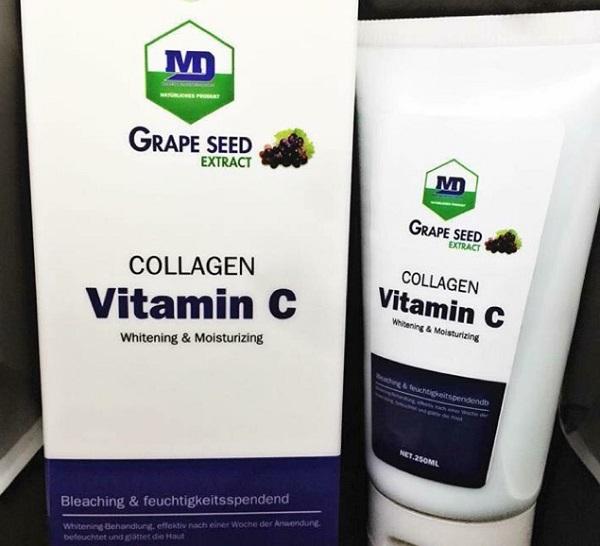 Tắm trắng Collagen Vitamin C của Đức
