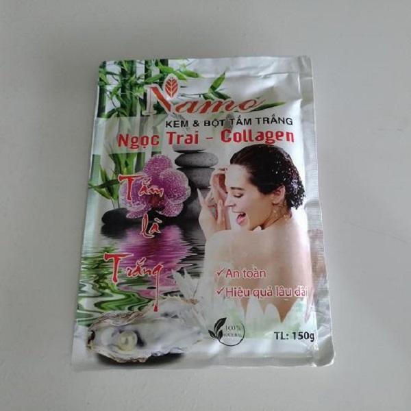 Tắm trắng ngọc trai Collagen