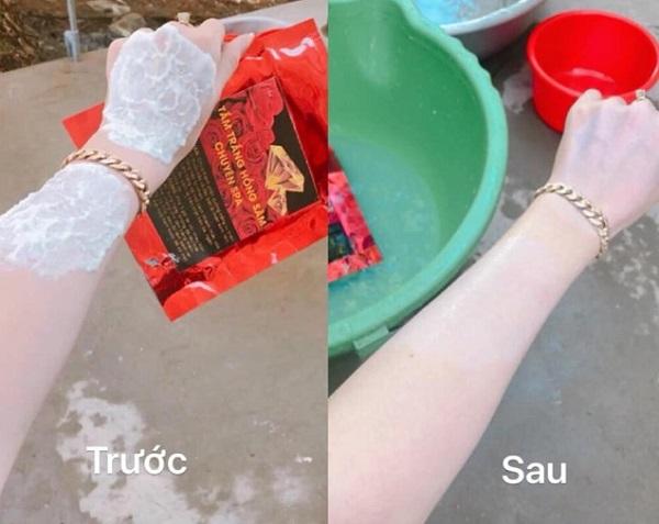Công dụng của tắm trắng Hồng Sâm chuyên Spa