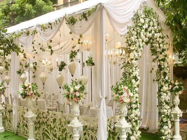 Cổng đám cưới bắt mắt, ấn tượng