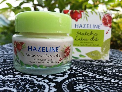 Kem dưỡng da mặt Hazeline nuôi dưỡng da từ sâu bên trong