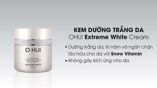 Ohui Extreme White Cream là dòng kem mỹ phẩm cao cấp
