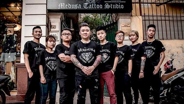 Đội ngũ Medusa Tattoo Club