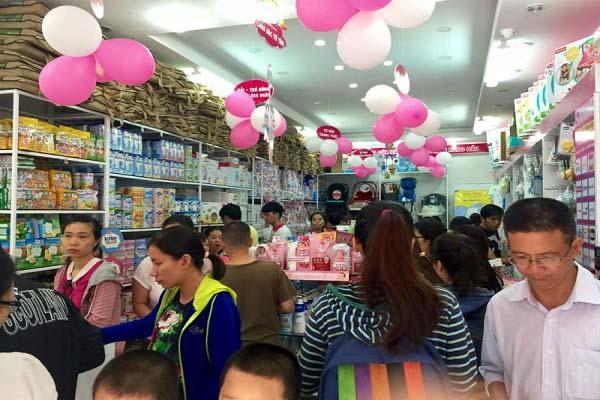 shop mẹ bé rẻ đẹp tại thành phố HCM
