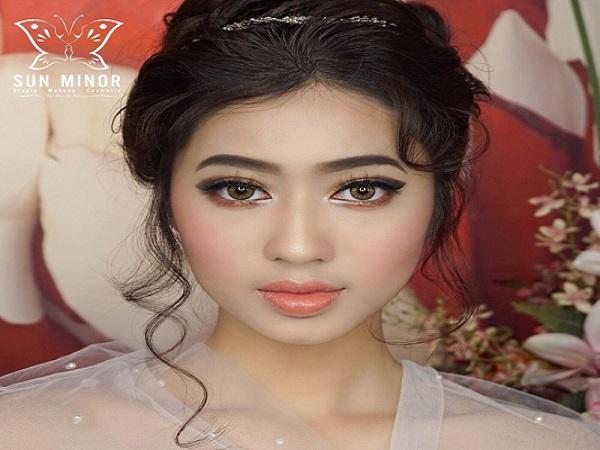 Trang điểm cô dâu tại Sun Minor MakeUp Artist