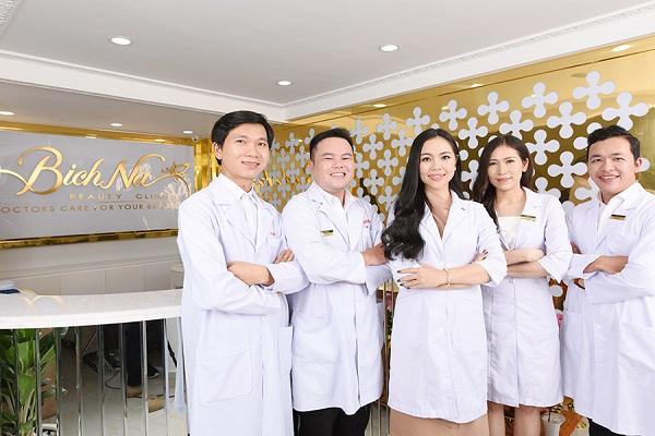 Đội ngũ bác sĩ của BichNa Beauty Spa