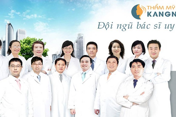 Đội ngũ bác sĩ Thẩm mỹ viện Kangnam
